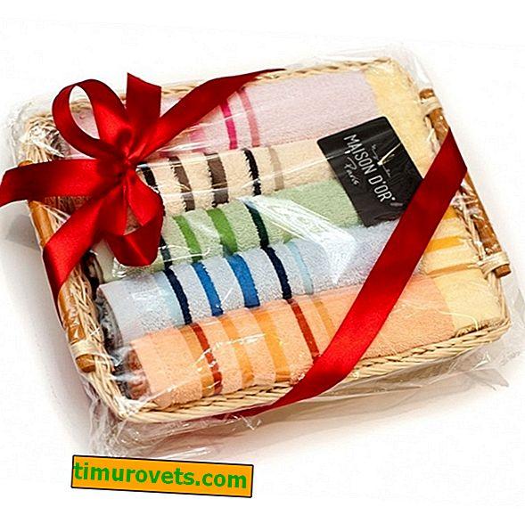 Zakaj brisače niso dobro darilo?  Znaki in etiketa