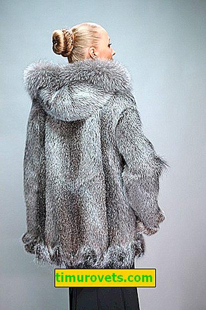 Stilovi kaputa iz nutrije: primjeri sa fotografijama