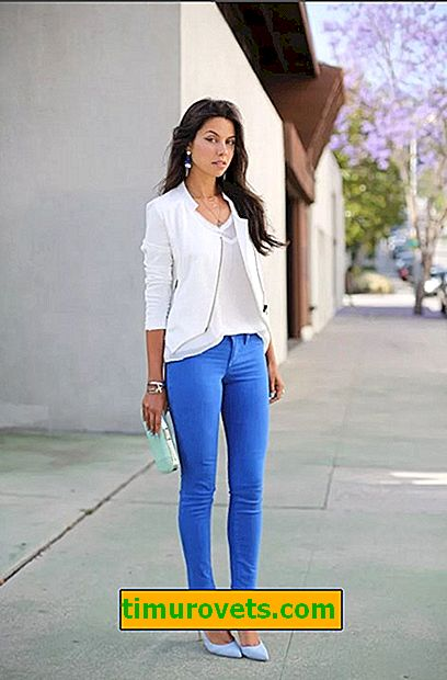 What to wear with blue jeans?