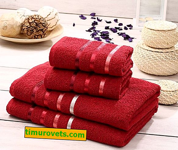 Terry towel sizes