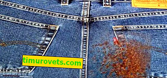 How to remove rust from jeans?