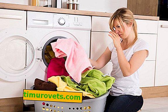 Kako se znebiti vonja brisač