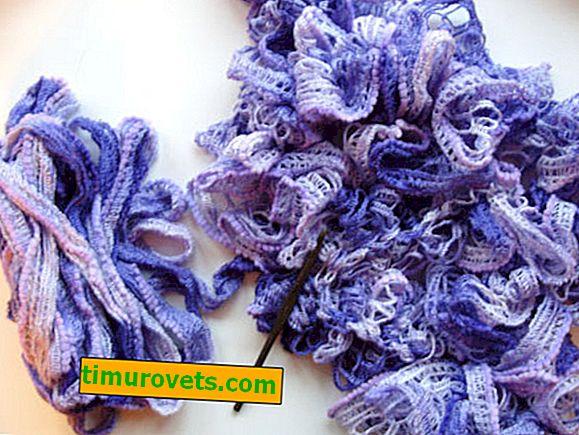 O que pode ser tricotado a partir de fios de fita?