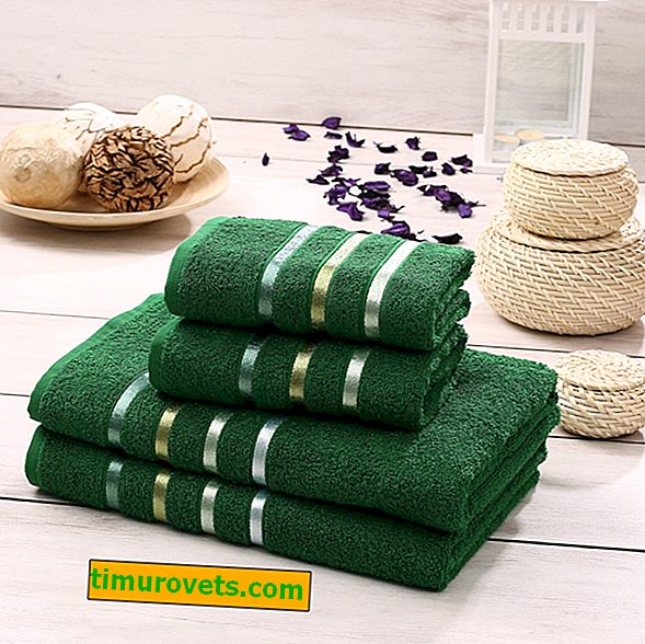 Which towel better absorbs water after a shower?
