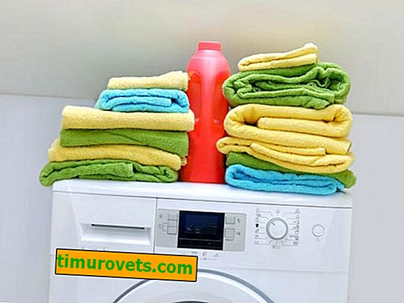 Why do towels smell bad after washing?