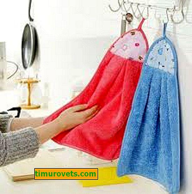 Измиваме кухненски кърпи, без да кипваме