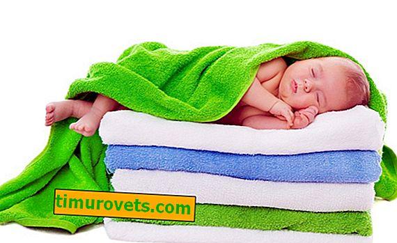Пране на хавлиени кърпи със сода - мекота и пухкавост