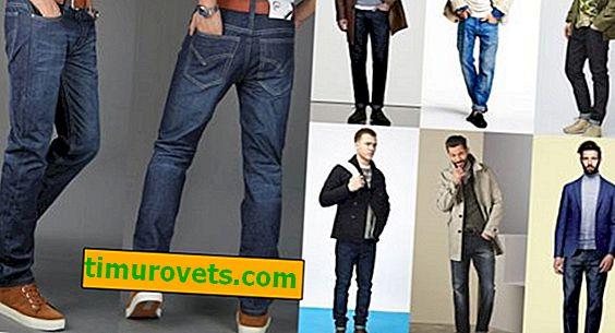 Мъжки дънкови стилове