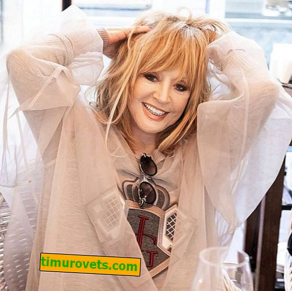 What is the Diva resting: the summer wardrobe of Alla Pugacheva