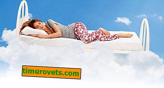 Što je opasno krevet napravljen od sintetike svijetlih boja