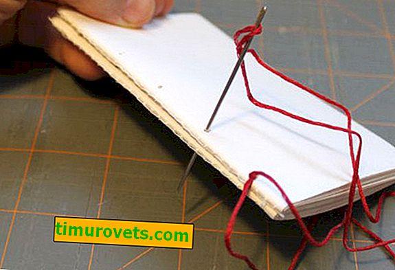 Как да мига тетрадка с конец
