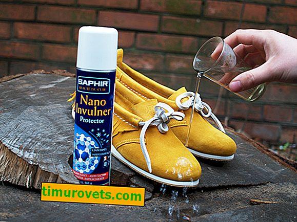 Vodou odpuzující impregnace pro semišové boty, která je lepší