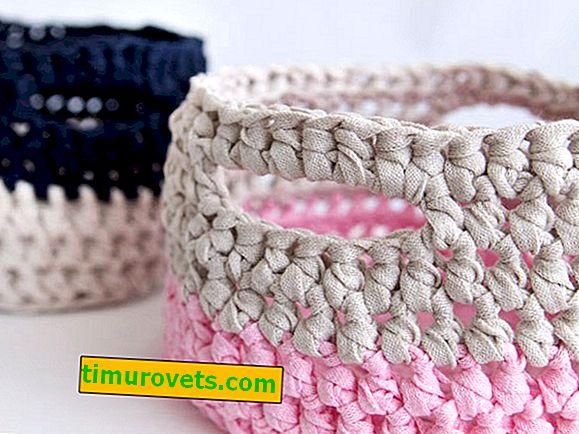 Плетене на една кука от прежда