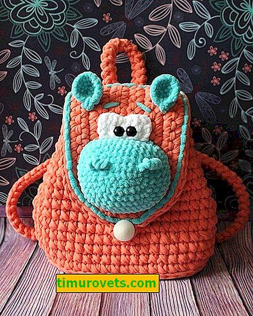 Crochet ruksak za bebe