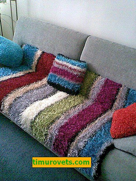 Co může být pleteno s travní přízí?