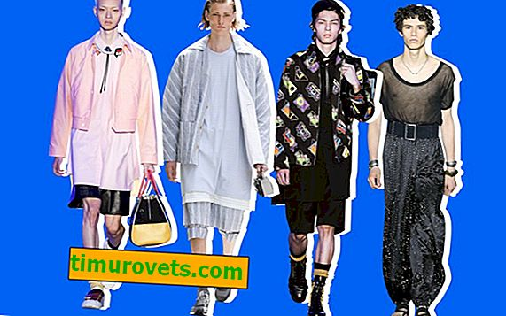 The strangest trends of men's fashion week