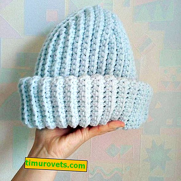 Kako kvačkati takori šešir