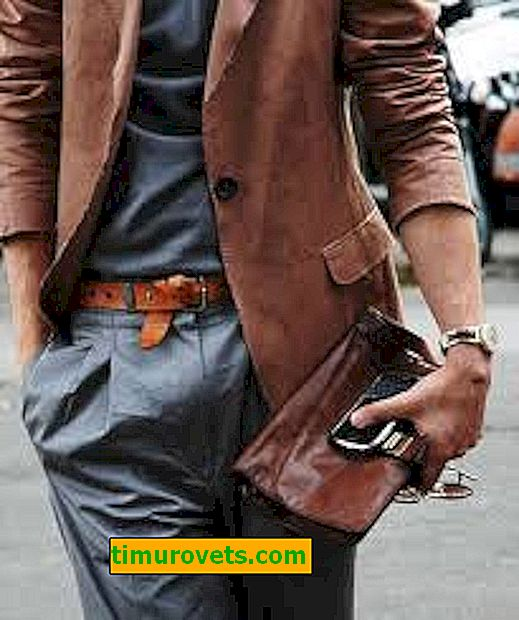 Видове мъжки чанти
