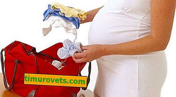Какво е включено в чантата за раждане