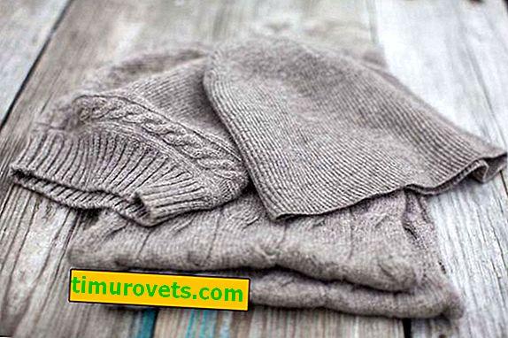 Como lavar as coisas de lã para não se sentarem?