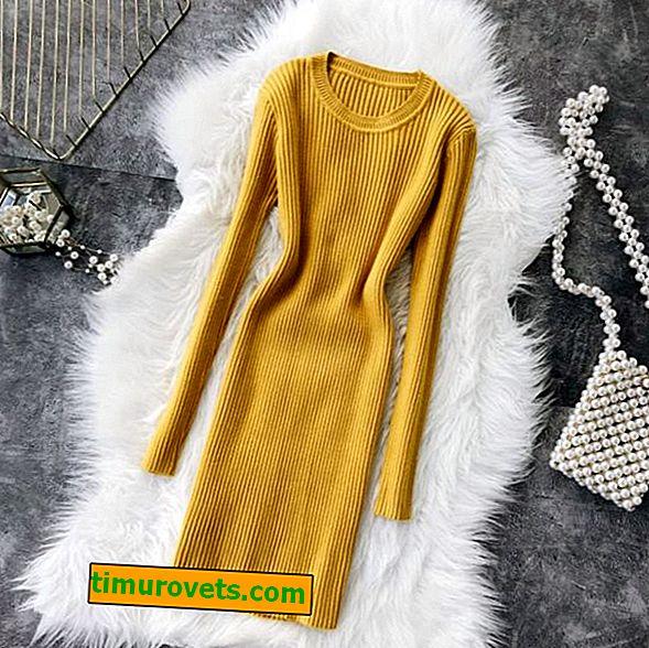 Waar draag je een wollen jurk mee?