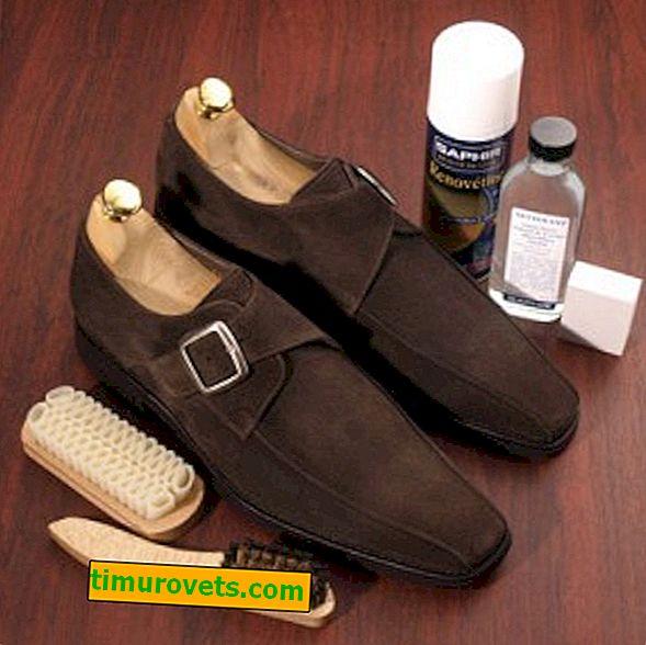 Jak se starat o umělé semišové boty?