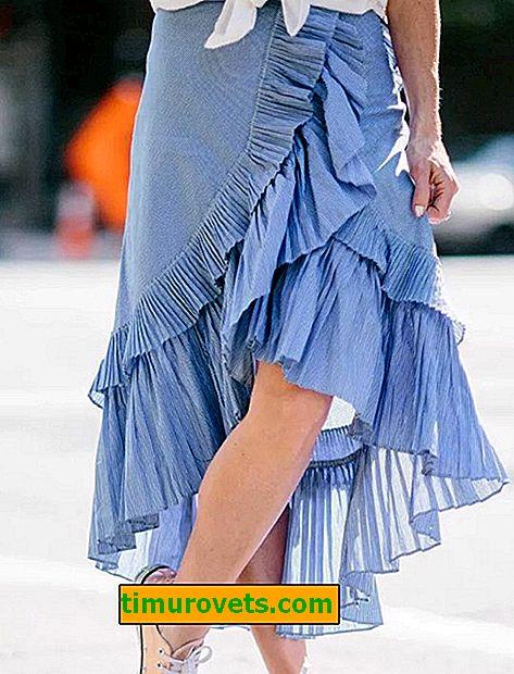 Styles de jupes d'été