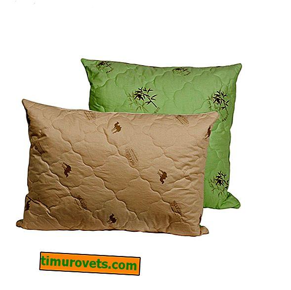 Коя възглавница е по-добра от косата от бамбук или камила