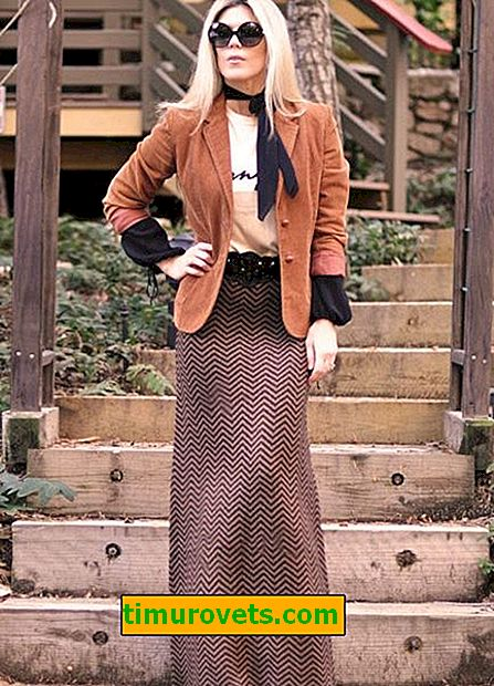 How to wear a long wool skirt in winter