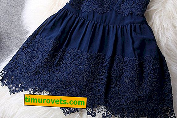 Hoe kant aan de zoom van een jurk te naaien