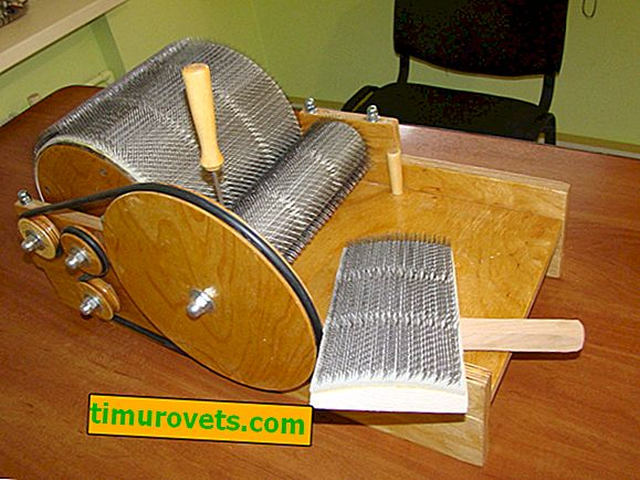 DIY nástroje z ovčej vlny