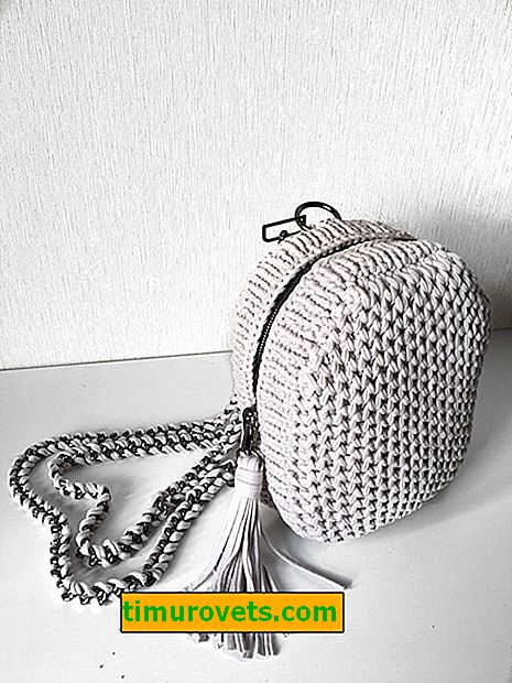 How to knit a backpack