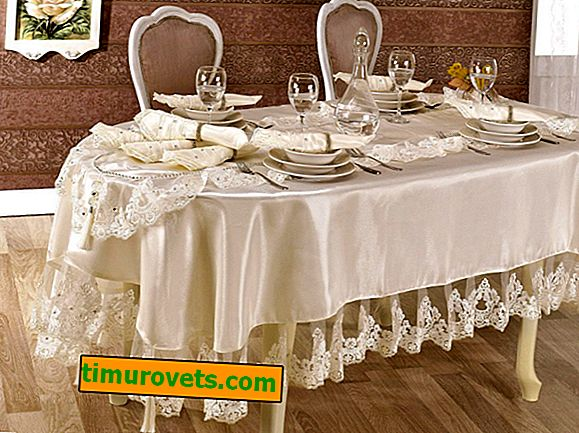 DIY şenlikli masa örtüsü