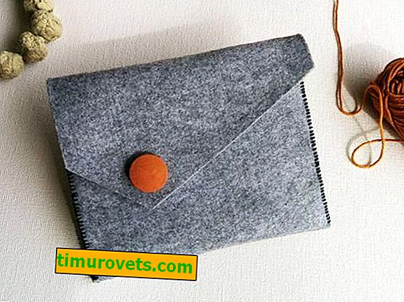 DIY wallet made of fabric