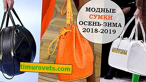 Какви чанти са на мода през есента - зимата на 2018-2019