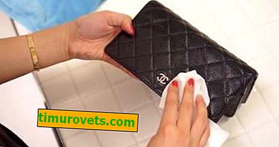 Hvordan rengjør du en lommebok?