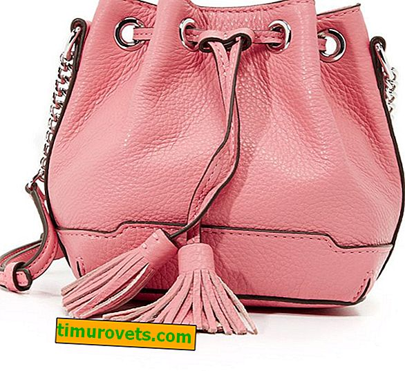 Какво да носите с розова чанта?