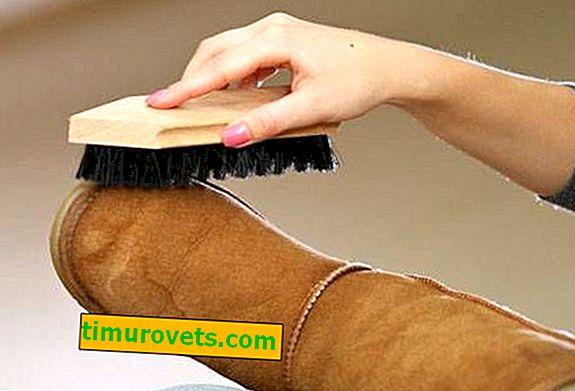 Как да почистите велурени модни ботуши