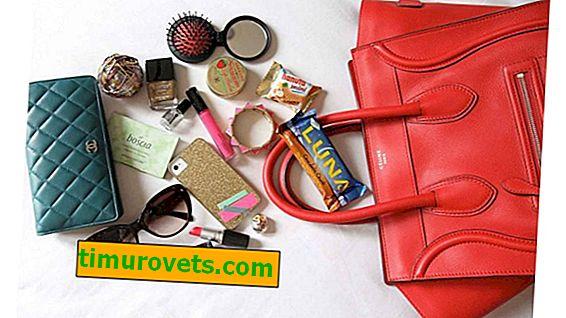 Какво трябва да има в дамската чанта