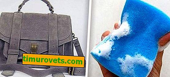 Как да се грижим за велурена чанта?
