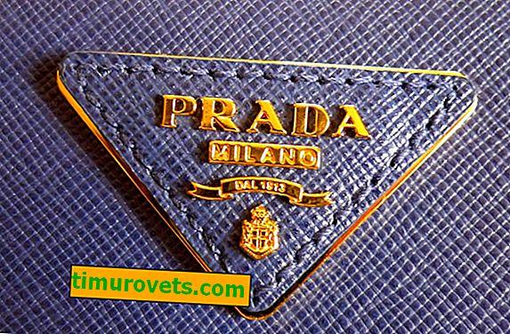 Sådan finder du ud af, om der er en ægte Prada-taske foran dig