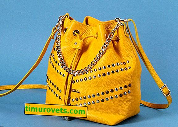 Какво да носите с жълта чанта (снимка)?
