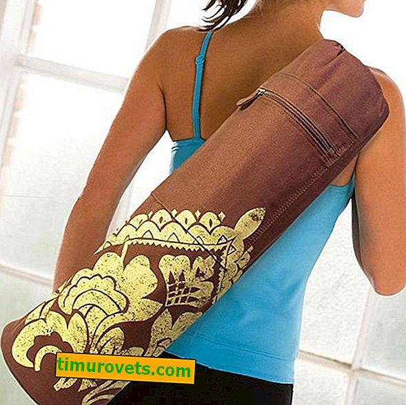 DIY Yoga Mat torba