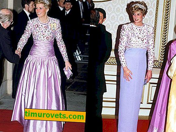 Уроци от принцеса Даяна: Как да носим старото като новото