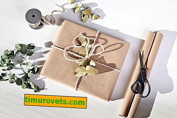 Как да опаковате торба като подарък