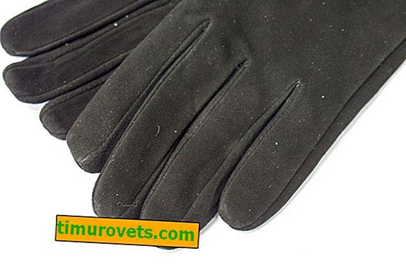 Как да почистите комбинираните кожени ръкавици от велур?