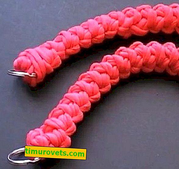 Как да плетете плетене на една кука за торба?