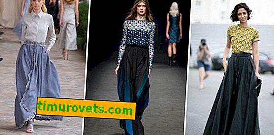Модни тенденции за макси поли 2019