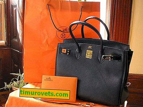 Bolso Hermes.  Cómo distinguir un falso