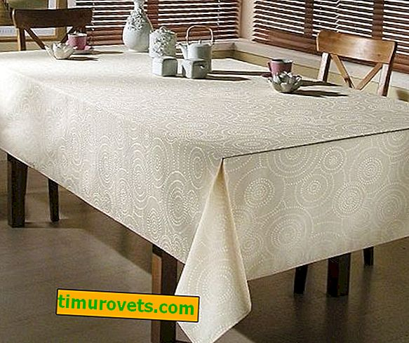 What fabric to sew the tablecloth from?